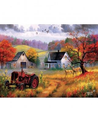 Puzzle SunsOut - Abraham Hunter: Heartland Home, 1000 piese (Sunsout-69626)