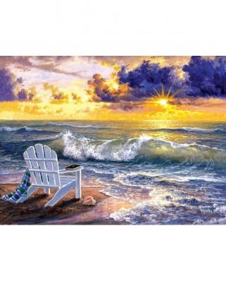 Puzzle SunsOut - Abraham Hunter: Be Still, 1000 piese (Sunsout-69684)