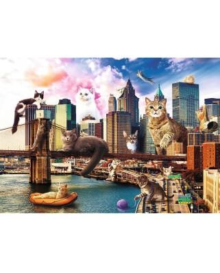 Puzzle Trefl - Kittens in New York, 1000 piese (10595)
