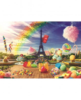 Puzzle Trefl - Sweet Paris, 1.000 piese (10597)