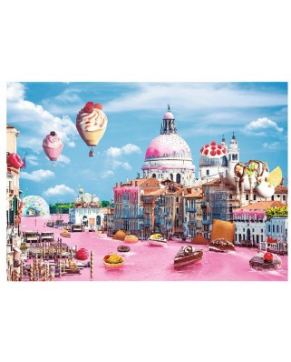 Puzzle Trefl - Sweets in Venice, 1.000 piese (10598)