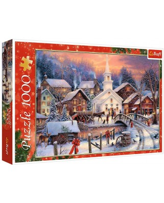 Puzzle Trefl - White Christmas, 1000 piese (10602)
