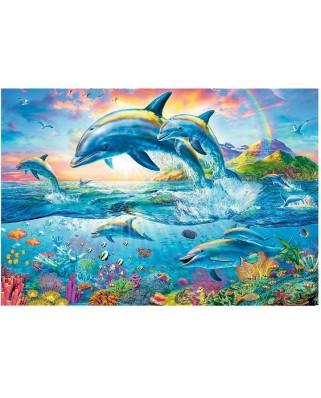 Puzzle Trefl - Dolphin Family, 1500 piese (26162)