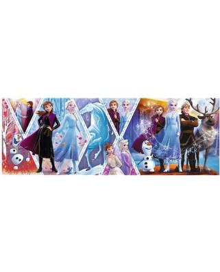 Puzzle panoramic Trefl - Frozen II, 1000 piese (29048)