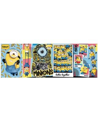 Puzzle panoramic Trefl - Minions, 1000 piese (29049)