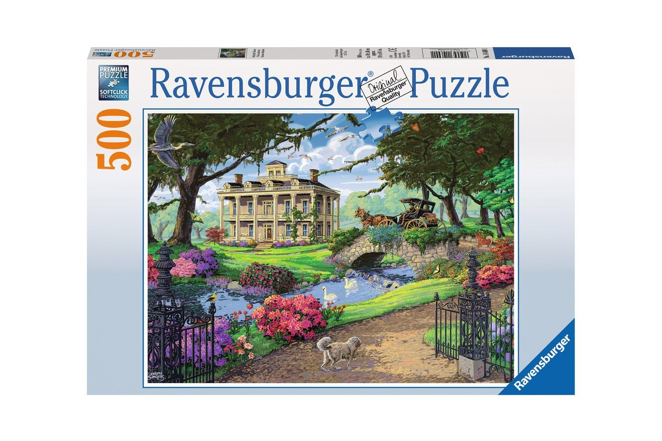Puzzle Ravensburger - In Vizita La Conac, 500 piese (14690)