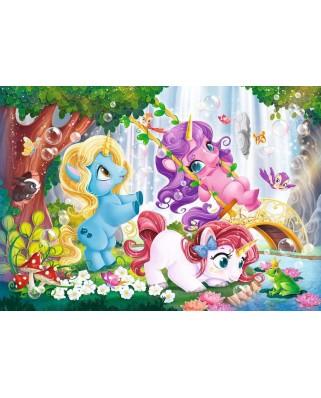 Puzzle Ravensburger - Unicorni Magici, 2x12 piese (05028)
