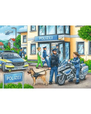 Puzzle Ravensburger - Ancheta Politie, 2x24 piese (05031)