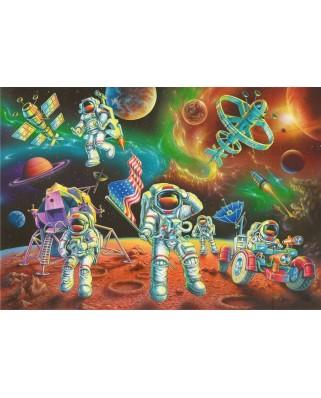 Puzzle Ravensburger - Astronauti Pe Luna, 35 piese (08678)