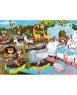 Puzzle Ravensburger - Animale De La Zoo, 35 piese (08778)