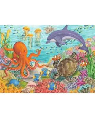 Puzzle Ravensburger - Animale Din Ocean, 35 piese (08780)