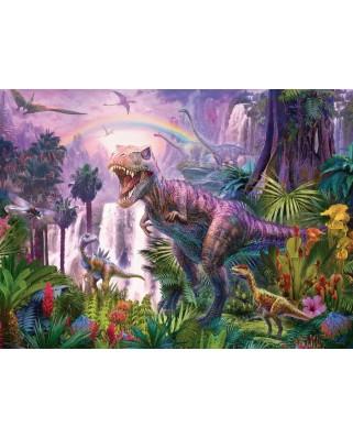 Puzzle Ravensburger - Taramul Dinozaurilor, 200 piese (12892)
