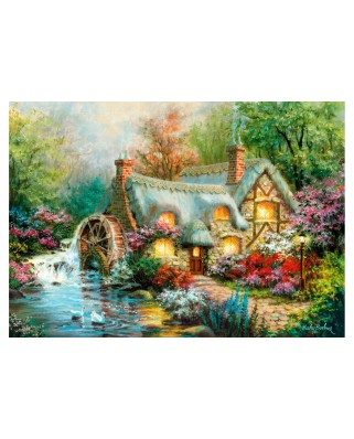 Puzzle Clementoni - Country Retreat, 1500 piese (31812)