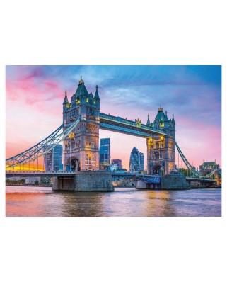 Puzzle Clementoni - Tower Bridge Sunset, 1500 piese (31816)