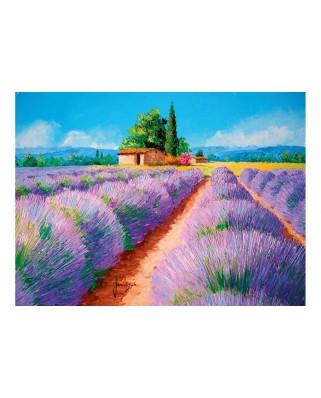 Puzzle Clementoni - Lavender Scent, 500 piese (35073)