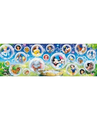 Puzzle panoramic Clementoni - Disney Classic, 1.000 piese (39515)