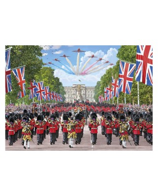 Puzzle Gibsons - Trooping The Colour, 1.000 piese (65067)