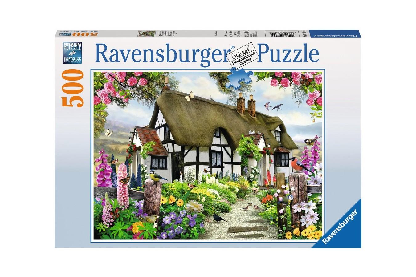 Puzzle Ravensburger - Cabana, 500 piese (14709)