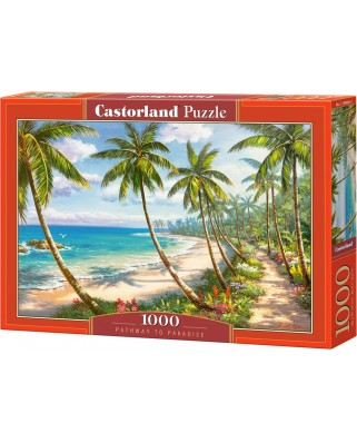 Puzzle Castorland - Pathway to Paradise, 1000 piese (104666)