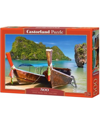 Puzzle Castorland - Khao Phing Kan, 500 piese (53551)