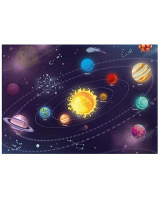 Puzzle Dino - Solar System, 300 piese XXL (47222)