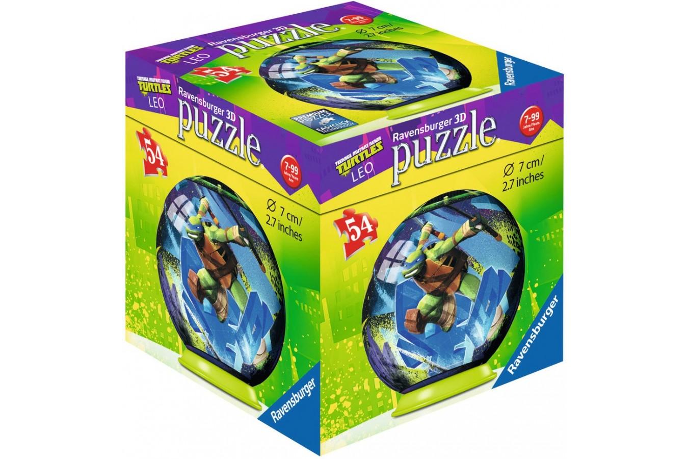 Puzzle Ravensburger - Testoasele Ninja, 54 piese (11908)