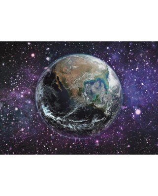 Puzzle fosforescent Dino - Earth, 1000 piese (54128)