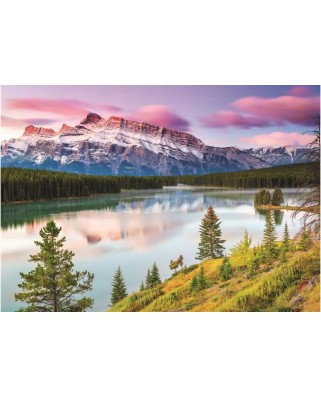Puzzle Dino - Rocky Mountains, 2000 piese (56121)