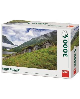 Puzzle Dino - Norangsdalen Valley, 3000 piese (56319)