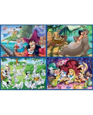 Puzzle Educa - Disney Classics, 20/40/60/80 piese (18105)
