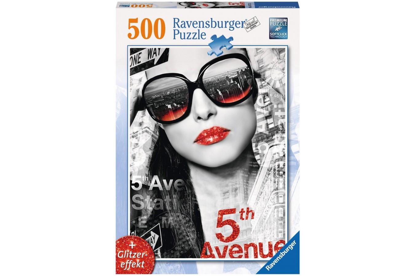 Puzzle Ravensburger - 5Th Avenue Fata, 500 piese (14713)