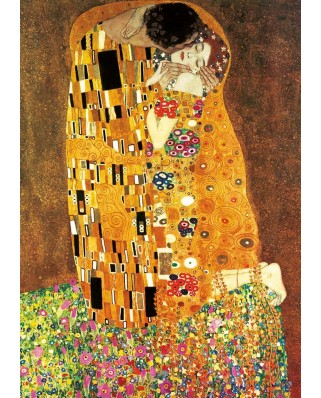 Puzzle Educa - Gustav Klimt: The Kiss + The Virgin, 2x1.000 piese (18488)