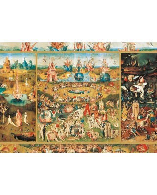 Puzzle Educa - Hieronymus Bosch: The Garden Of Delights, 2.000 piese (18505)