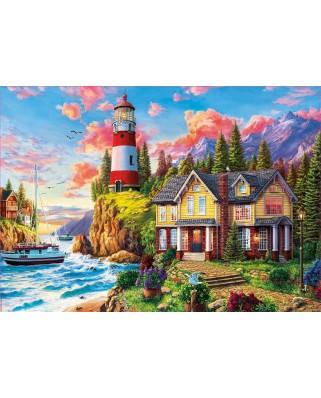 Puzzle Educa - Lighthouse Landscape, 3.000 piese (18507)