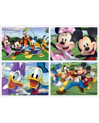 Puzzle Educa - Mickey & Friends, 20/40/60/80 piese (18627)