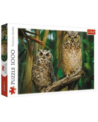 Puzzle Trefl - Owls, 1000 piese (10603)