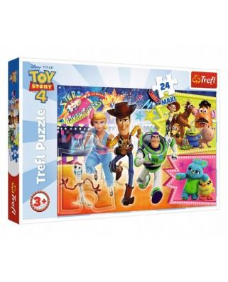 Puzzle Trefl - Toy Story 4, 24 piese XXL (14295)