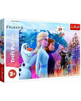 Puzzle Trefl - Frozen II, 24 piese XXL (14298)