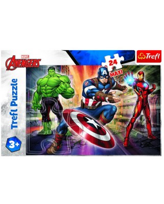 Puzzle Trefl - Disney Marvel The Avengers, 24 piese XXL (14321)
