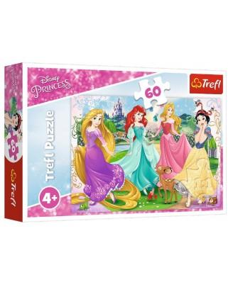 Puzzle Trefl - Disney Princess, 60 piese (17347)