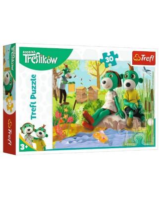 Puzzle Trefl - Treflikow, 30 piese (18265)