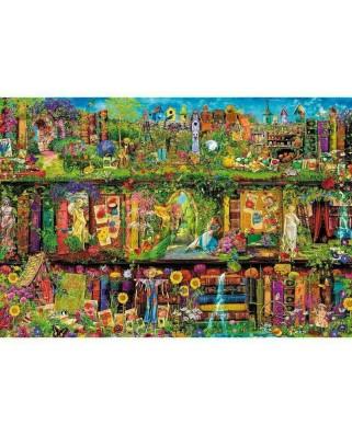 Puzzle Trefl - Fairy Bookcase, 1500 piese (26165)