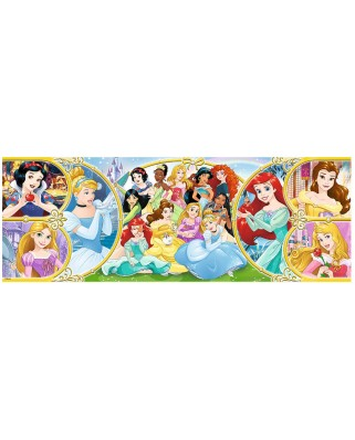 Puzzle panoramic Trefl - Disney Princess, 500 piese (29514)
