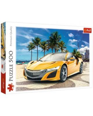 Puzzle Trefl - Summer Adventure Car, 500 piese (37381)