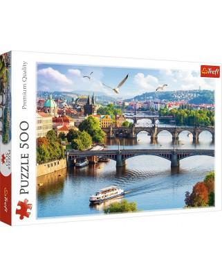 Puzzle Trefl - Prague, 500 piese (37382)