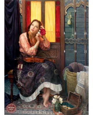 Puzzle Anatolian - Alan Murray: Crimson Rose, 1000 piese (1072)