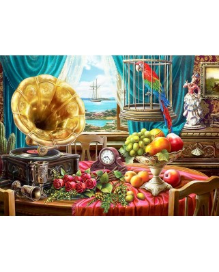 Puzzle Anatolian - Marthy H. Segelbaum: Still Life With Fruit, 1.000 piese (1085)