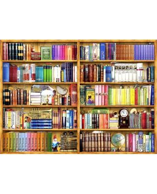Puzzle Anatolian - Barbara Behr: Bookshelves, 1.000 piese (1093)