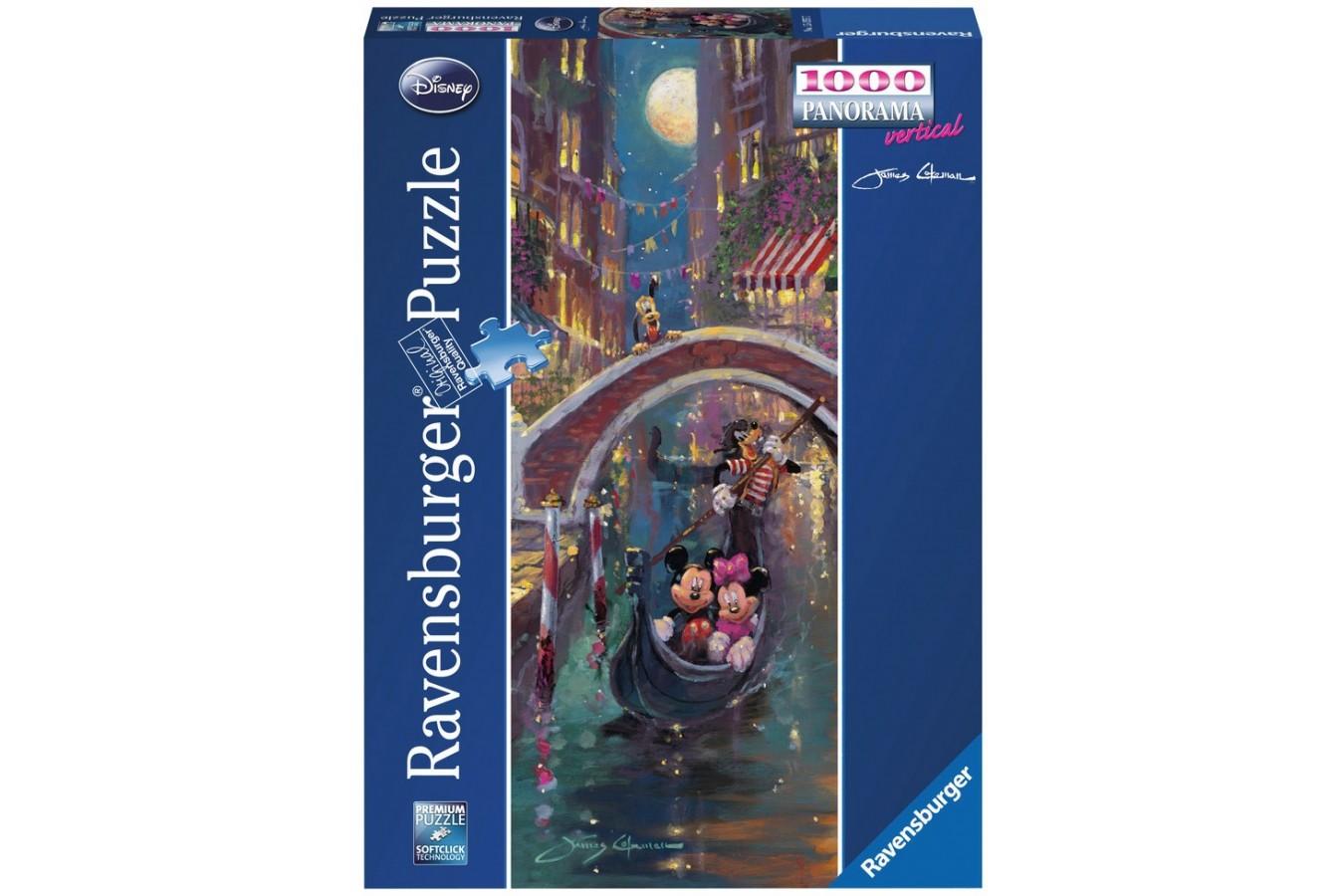 Puzzle Ravensburger - Romantism In Venetia, 1000 piese (15055)