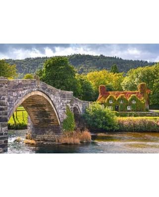 Puzzle Castorland - Village Corne in Wales, 1000 piese (104673)